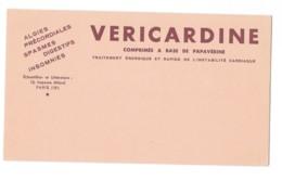 Buvard Pharmaceutique - Vericardine - Chemist's
