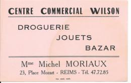 Buvard Publicitaire - Centre Commercial Wilson - Chemist's