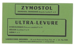 Buvards Pharmaceutique Zymostol - Chemist's