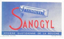 Buvard Pharmaceutique Sanogyl - Chemist's