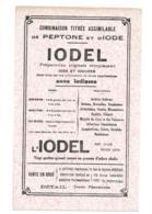 Buvard Pharmaceutique Iodel - Chemist's