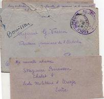 """L- Cachet: """" Ecole Militaire """" - Uriage- - Guerra Del 1939-45"""
