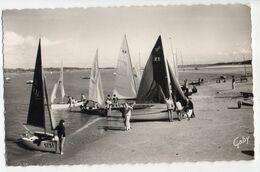LE TOUQUET PARIS PLAGE --1971--Les Voiliers Dans La Baie De La Canche  ( Animée ) ..............à Saisir - Le Touquet