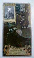 Image Cartonnée Gaufrée Publicité Art Nouveau LU / LEFEVRE UTILE / Personnages Célèbres / BRUNEAU - Lu