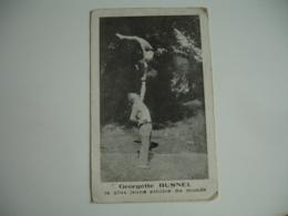Georgette Busnel La Plus Jeune Athlete Du Monde Cirque Spectacle - Circus