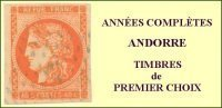 Andorre, Année Complète 1984, N° 327 à N° 336** Y Et T - Años Completos