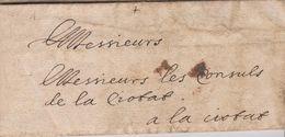 """LAC - MARSEILLE 12 FEVRIER 1657 - """" LE PORTEUR DES PRESENTES EST PAYE"""" - TEXTE INTERESSANT - ....-1700: Precursors"""