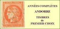 Andorre, Année Complète 1985, N° 337 à N° 344** Y Et T - Años Completos