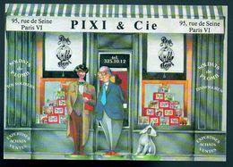 REF 507 CPSM PARIS VI Pixi & Cie 95 Rue De Seine Marchant De Jouets Boutique  Shop Toy - Arrondissement: 06