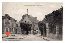 33924-ZE-78-CARRIERES-sous-BOIS-Route Du Pecq--------charrette - Carrières-sur-Seine