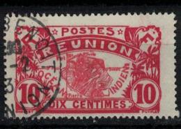 REUNION        N°  YVERT  :  86   ( 4 )    OBLITERE       ( Ob   7/ 53 ) - Réunion (1852-1975)