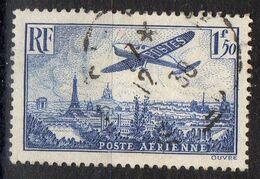 FRANCE ( AERIEN ) S&P N°  9  TIMBRE  BIEN  OBLITERE , A VOIR . R.7 - Poste Aérienne