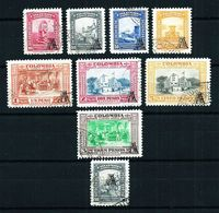 Colombia Nº A-207/14-209a Usado Cat.48,75€ - Colombia