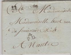 LAC - PETITE POSTE De NANTES /  26 Juillet 1790 - 1701-1800: Precursores XVIII