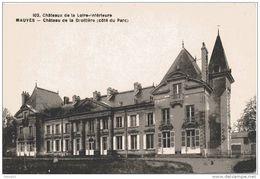 44. Mauves. Chateau De La Droitiere - Mauves-sur-Loire