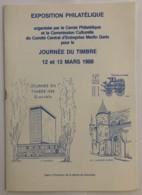 Guide Exposition Philatélique - Journée Du Timbre 12 Et 13 Mars 1988 - Grenoble - Francobolli