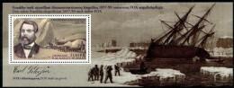 Groenland 2013 - Expédition XI - Feuillet Explorateur Carl Petersen ** - Polar Exploradores Y Celebridades