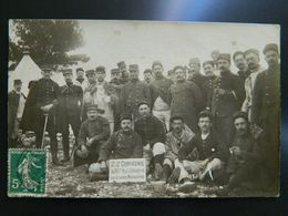 22 ème COMPAGNIE DU 113 ème REGIMENT D'INFANTERIE AUX GRANDES MANOEUVRES - Regiments
