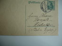 Trimbach Kr Weissenburg Els  Els Occupation Alsace Cachet Obliteration Allemagne Sur Entier Postal - Storia Postale