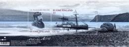 Finlande - Feuillet Souvenir  ** Explorateur Adolf Erik Nordenskiöld - Polar Exploradores Y Celebridades
