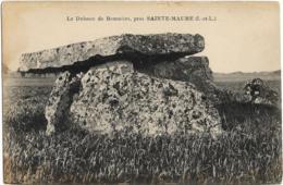 D37 - LE DOLMEN DE BOUMIERS - PRES SAINTE MAURE - France