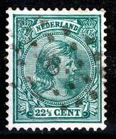 NEDERLAND   1891  221/2c  PUNTSTEMPEL  8 - Used Stamps