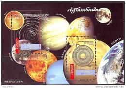Georgia 2009 Europa Astronomy SS MNH NEW - Sin Clasificación
