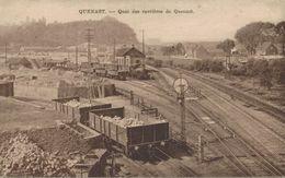Quenast - Quai Des Carrières De Quenast - 2 Scans - Rebecq