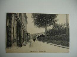 Cpa 76 Valmont Grande Rue - Valmont