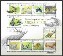 België 2015 Belgique -  BL225xx Dieren In Beweging - Animaux En Mouvement. - Blocks & Kleinbögen 1962-....