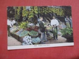 Cuban Fruit Stand    Cuba > >  Ref 4227 - Cuba