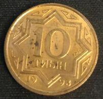 KAZAKHSTAN - 10 TYIN 1993 - KM 3a - Zinc Plaqué Cuivre - Kazakhstan