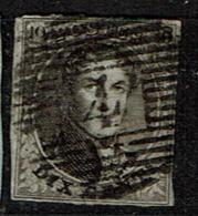 3  Obl  Centrale P 4  Anvers  115 - 1849-1850 Medallions (3/5)