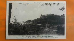 Environs De Raon L'etape - Pierre Percee - Panorama Pris De La Foret Et Les Ruines Du Chateau Des Princes De Salm - Raon L'Etape