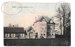 Retie Villa Van Notaris De Vel Rethy Briefstempel Turnhout 1917 Geprüft Postuberwashungsstell - Retie