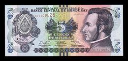 Honduras 5 Lempiras 2014 Pick 98b SC UNC - Honduras
