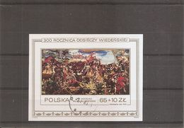 Pologne ( BF 101 Oblitéré ) - Blokken & Velletjes
