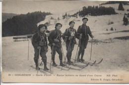88 GERARDMER  Sports D'hiver - Equipe Militaire Au Départ D'une Course - Gerardmer
