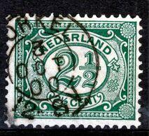 NEDERLAND   1899  CIJFER 21/2 C  KLEINROND BORKEL - Used Stamps