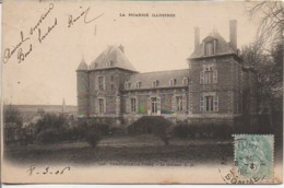80 TEMPLEUX-la-FOSSE  Le Château - Sonstige Gemeinden