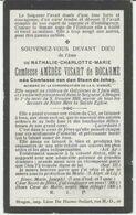 BP Comtesse Van Den Steen De Jehay (Golzinnes 1852 - 1919) - Alte Papiere