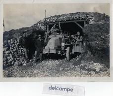 MILITARIA - Photo Rare Et Authentique -  Véhicule Militaire Marque LATIL  -  1914- 1918 - Guerre, Militaire