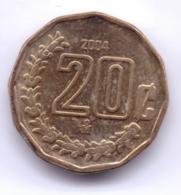 MEXICO 2004: 20 Centavos, KM 548 - Mexico