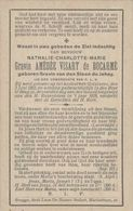 BP Gravin Van Den Steen De Jehay (Golzinnes 1852 - Brugge 1919) - Alte Papiere