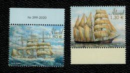 Aland 2020 Sailing Ships (Mozart E Viking) 2v ** MNH Complete Set - Aland