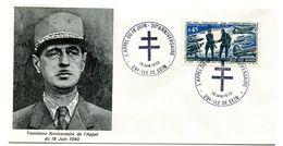 Thème Général De Gaulle - BT Ile De Sein 18 Juin 1970 - R 5918 - De Gaulle (Generaal)