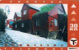 *IS. FAEROER* - Scheda Usata - Faroe Islands