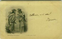 TUNISIA / TUNISIE - MENDIANTES KROUMIRS - EDIT SOLER TUNIS - MAILED TO ITALY - TASSATA - 1901 (BG8611) - Tunisie