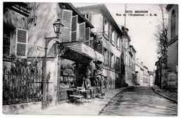 Meudon (92) Marchand Tabac Boutique  Animation 1920 état Superbe - Meudon