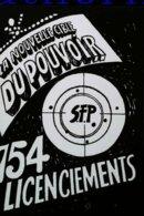 Carte Postale SFP   (ex ORTF )  Grève  Privatisation 2001 Licenciements La Nouvelle Cible Du Pouvoir 754 Licenciements - Syndicats